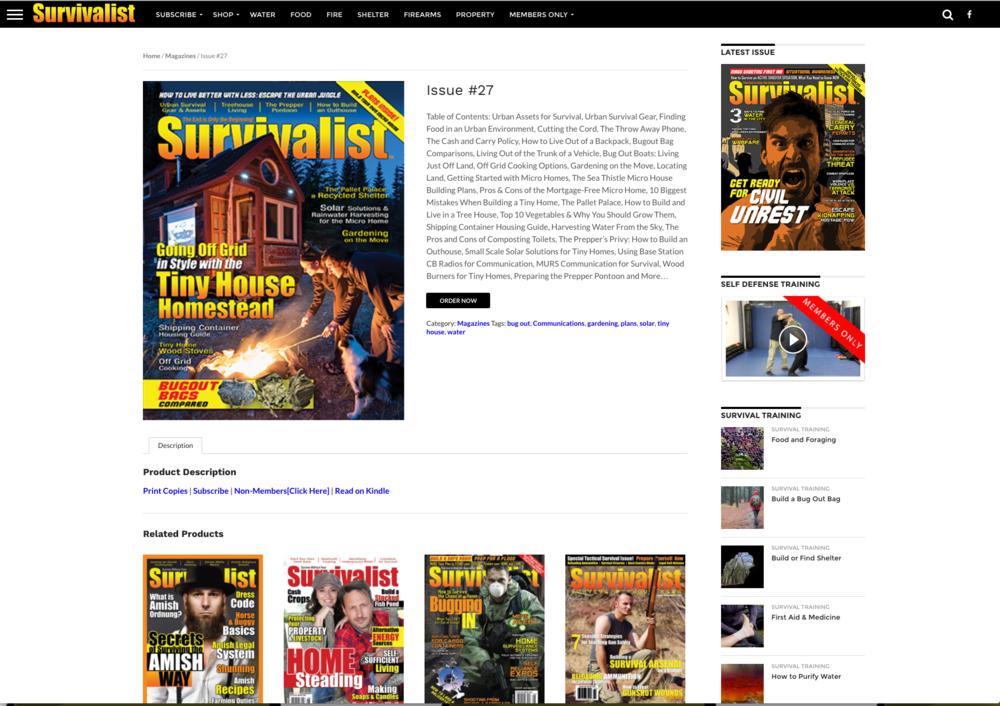 Survivalist Magazine