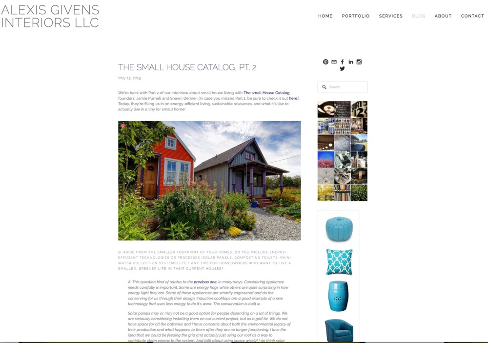Alex Givens Design Blog
