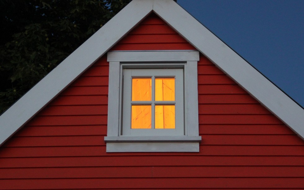 Tiny House Loft Window