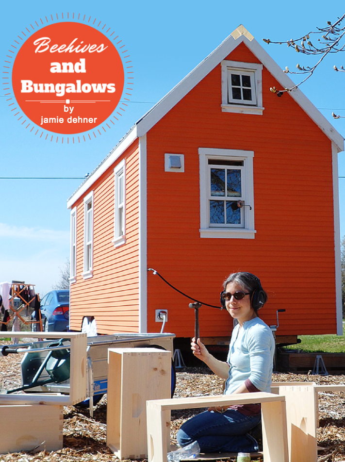 Read the article...TINY HOUSE MAGAZINE ISSUE NO. 31
