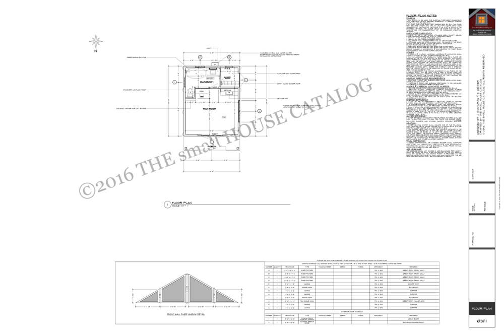 No. 35 - Shandraw Cottage Floor Plan