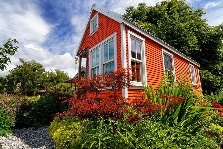tiny house plan offerings from the small house catalog — the small