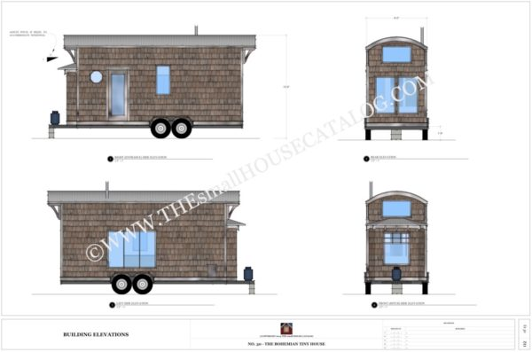 Tiny house plan offerings from the small house catalog for House plan catalogs free