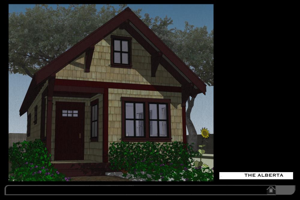 No. 32 - The Alberta Backyard Bungalow House Plan — THE small HOUSE ...
