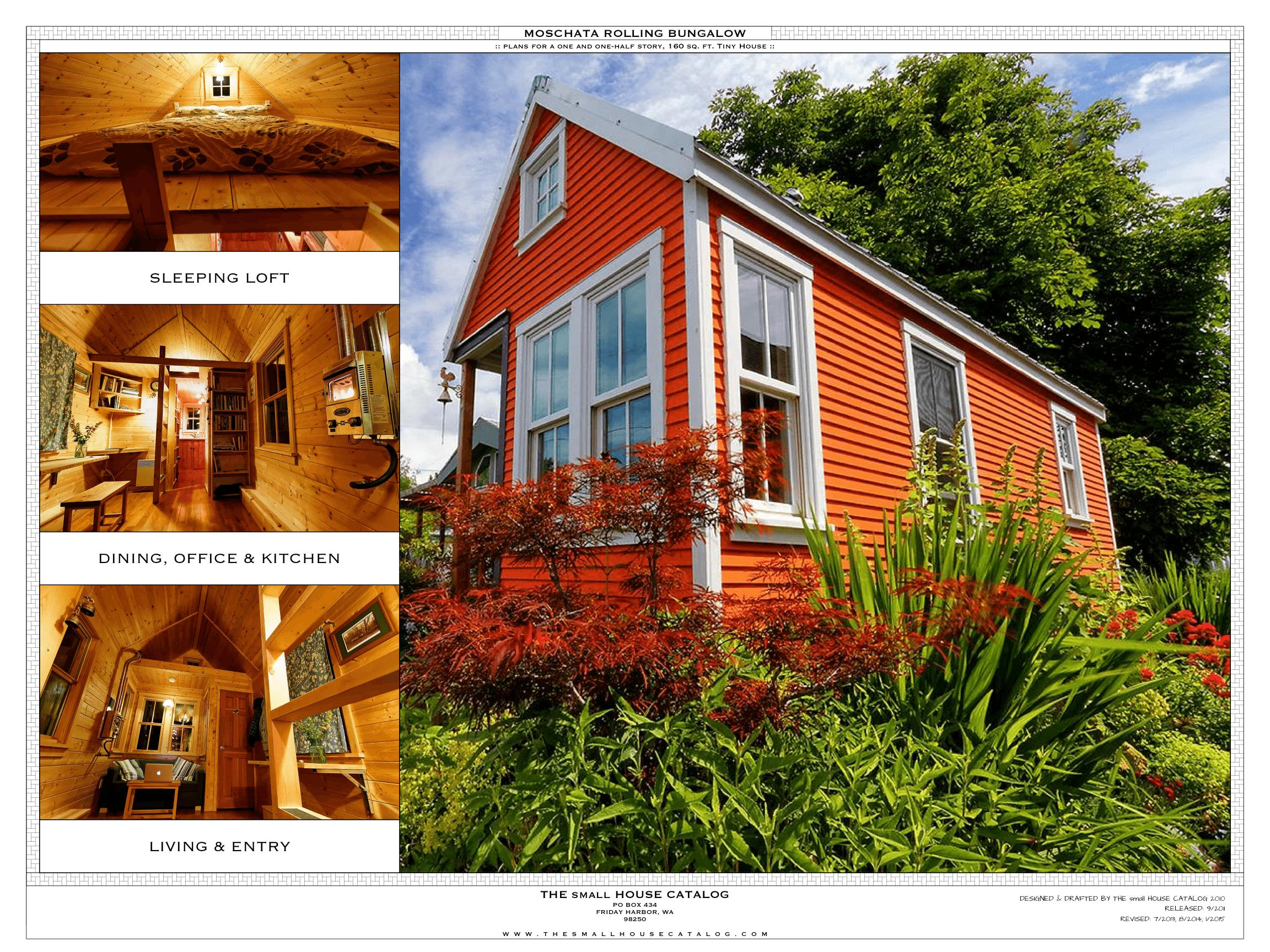 No 1 Tiny House Plan The Moschata The Small House Catalog