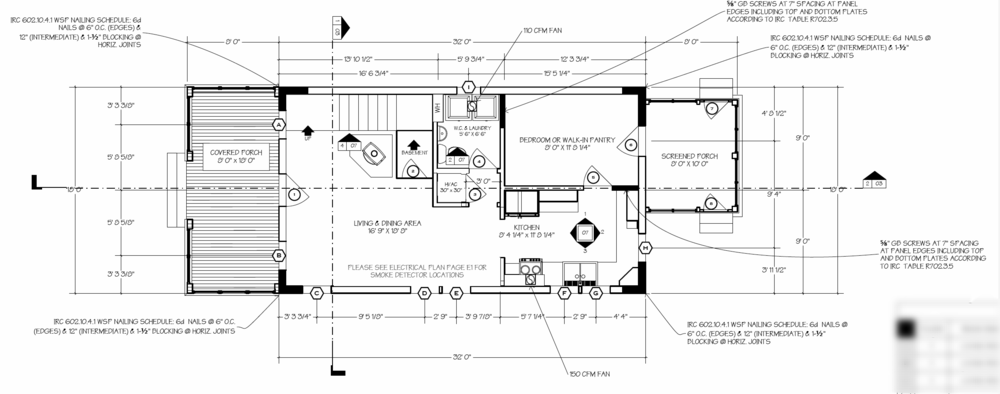 Small house catalog for Poplar forest floor plan