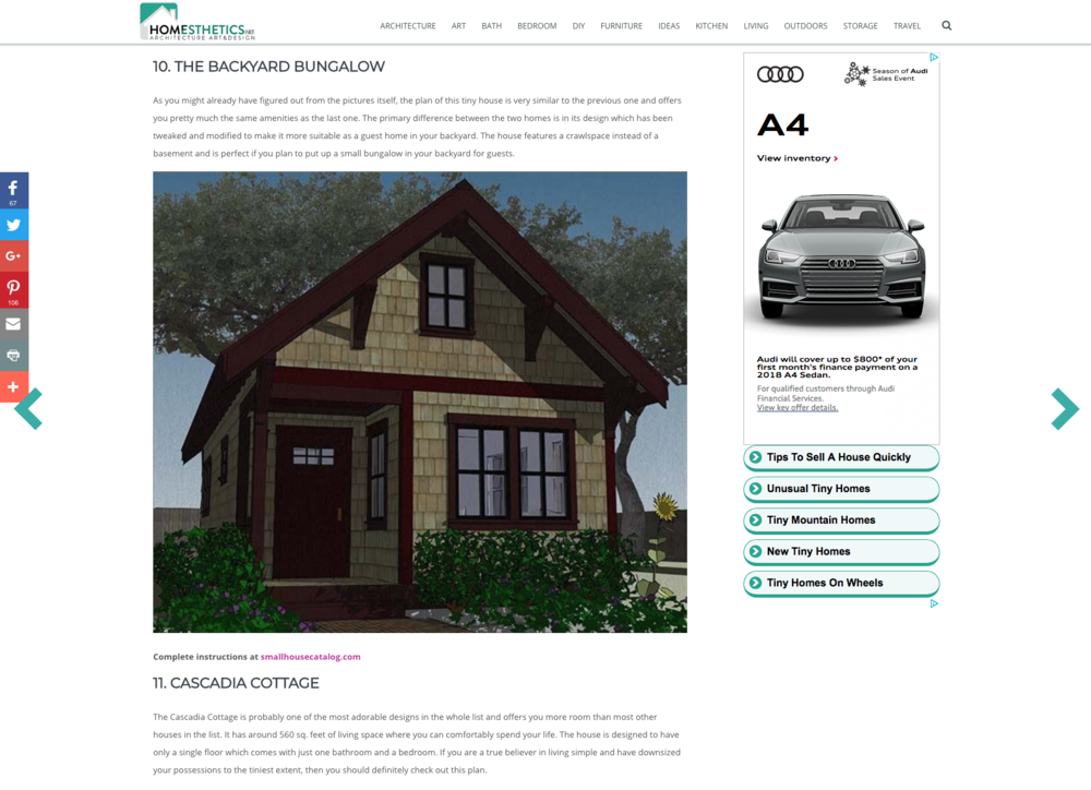 Homesthetics Architecture, Art & Design