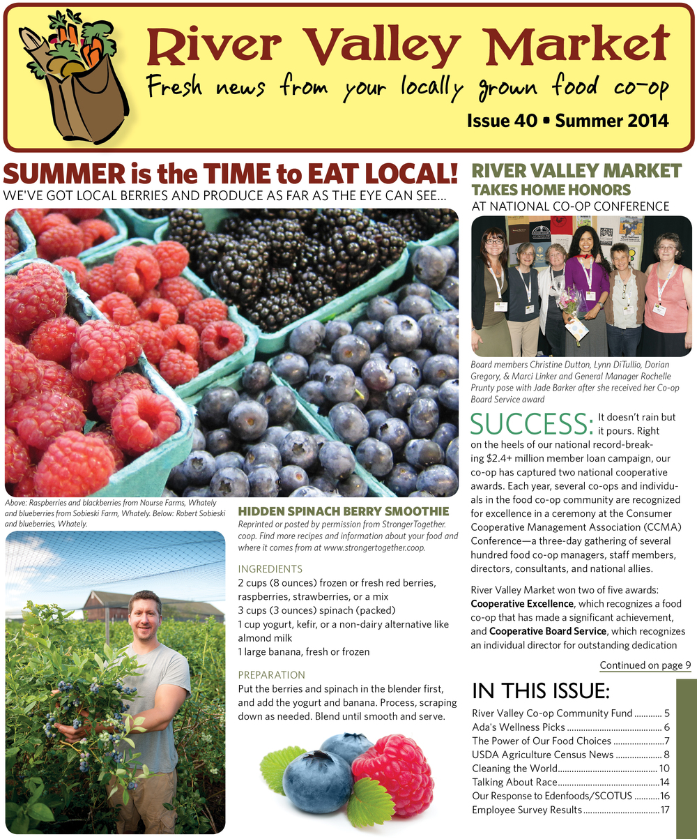 River Valley Market Newsletter SPRING 2014