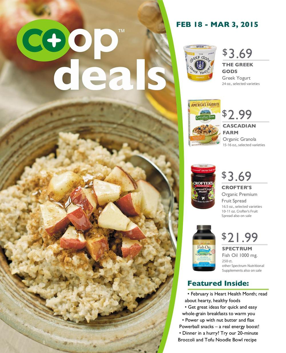 Co+op Deals, February 18-March 3, 2015