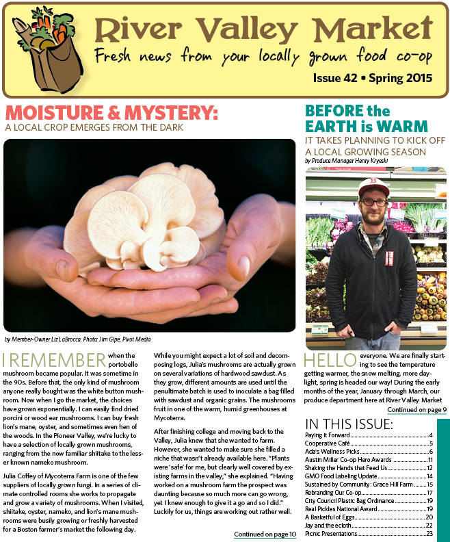 River Valley Market Newsletter SPRING 2015