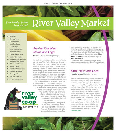 River Valley Market Newsletter SPRING 2015