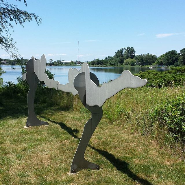 William King dancers #williamkingsculpture #billkingart #celebratedsculptor #nycsculpture  #easthampton #easthamptonartist