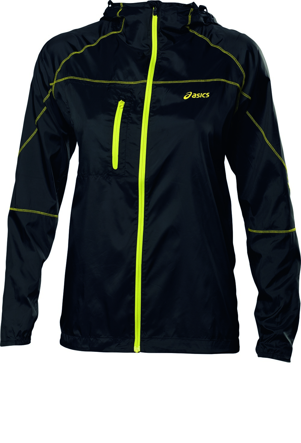 ASICS - Women FUJI PACKABLE JACKET - 80 euros http://www.asics.fr/course-a-pied/