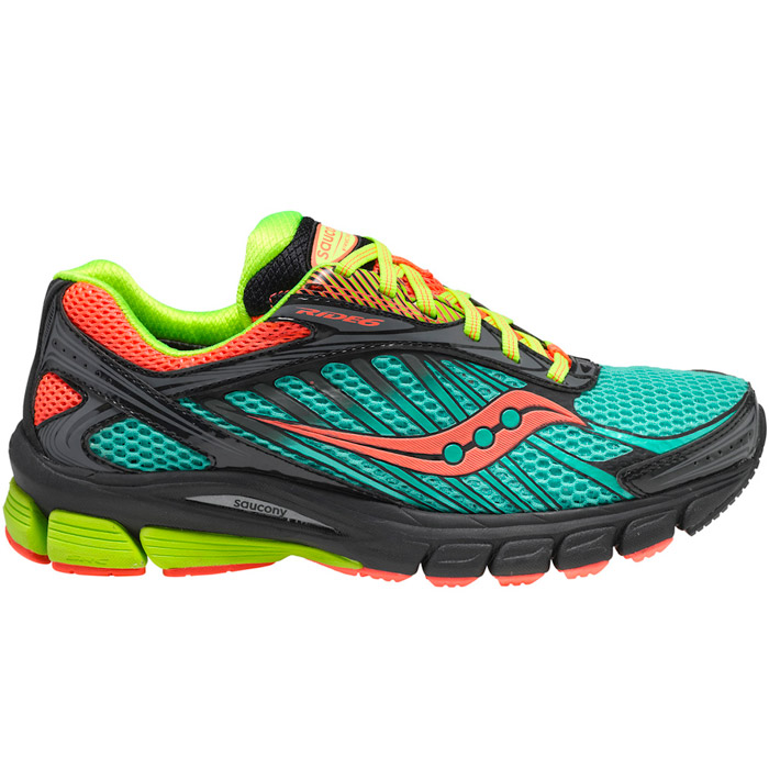 SAUCONY - Women's Ride 6 GTX - waterproof - 130$ http://www.saucony.com/store/SiteController/saucony/waterproof/cat10002/cat6000118/subcategory