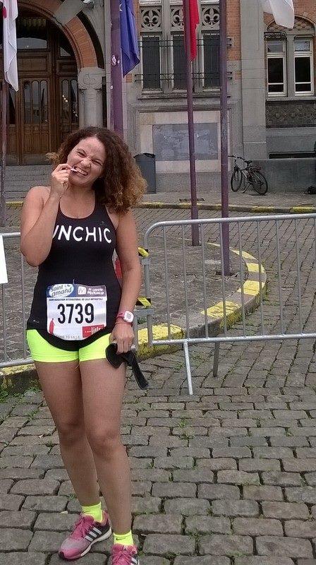 LEILA GREEN : Ma motivation : terminer un marathon sera pour moi un vrai accomplissement ! Et je n'ai jamais chaussé de New Balance, donc cela sera une
