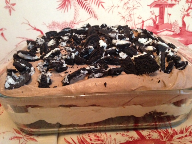 Peanut Butter Oreo Mousse Pie