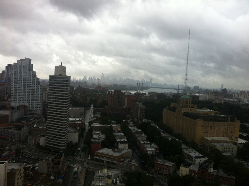 Calm before the storm. NYC is gorgeous right now.