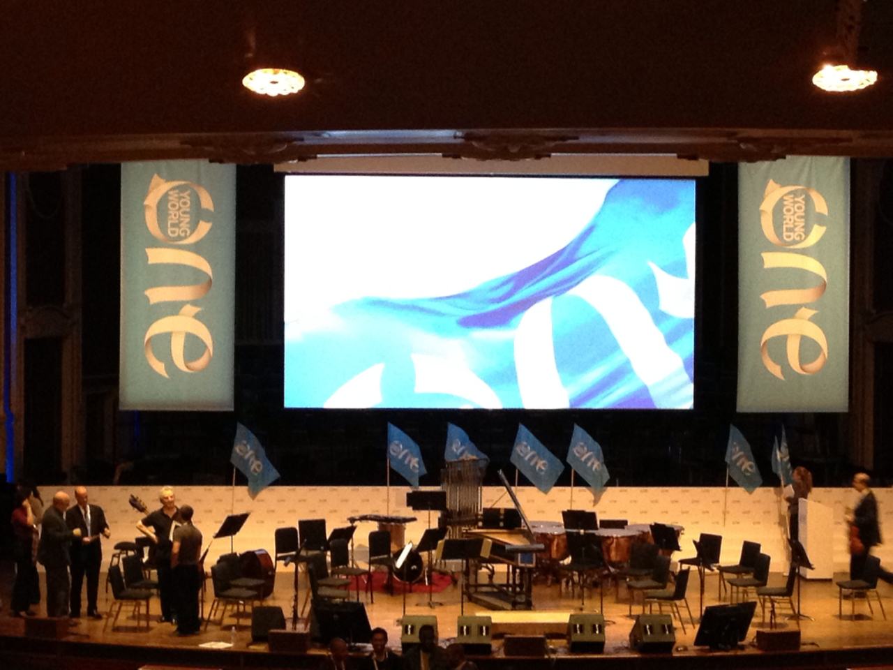 "over the past 1.5 days, i was able to attend #OneYoungWorld (@oneyoungworld), dubbed as a mini-davos…a very inspiring summit of over 1200 delegates from over 180 countries, all gathered to hear from some pretty big deal cats - Former President Bill Clinton, Professor Mohammad Yunus, Chef Jamie Oliver, Activist Fatima Bhutto, Kiva founder Jessica Jackley, Musician Bob Geldof …and a ton of other A-list business, government, ngo and educational experts (seriously A-list, seriously).     I'm excited to see how the Summit progresses over the years and imagine that in a year or 2 people will say the same thing they do about SXSWi ('dude, i went to sxswi before it became this huge thing that tens of thousands of people flock to every year and go nuts to get into)…or something like that.     there were so many young leaders, all with ambitions to change deep socio-economic issues in their country…and many delegates that were sponsored by their companies to discover, learn and share ways to answer global challenges around a myriad of topics (e.g., human rights, ethical businesses, food, energy, gender inequalities, etc.).     The premise of One Young World is simple, yet huge - give the young leaders of tomorrow a platform to activate and change the world for the better. And as many of the amazing speakers have said this far (though not in these exact words) - it's up to you kids, get off your asses and do something. no really, do something…    I think Professor Muhammad Yunus said it best ""start simple. start small.""    so i hope to return to #OYW and hear about 1200+ projects that have been launched or are underway or are crazy successful…and  for that to happen, all those delegates need to start talking to each other (not just the people they know or the A-list experts), they need to start challenging each other and sharing answers…and they need to start putting pen to paper, or to code to screen (or both)….asap.    And I think that by the end of the 3 days they will….because (as Clinton put it in not these exact words) - none of us are doing social good here. we're making sure we have all have a world to live in down the road.     so cheers to 2013 and seeing the thousands of awesome projects/businesses/organizations launched.     oh, and hey brands and brand people, get on board now, because if you don't you're not gonna matter to anyone in a couple of years. seriously, you won't (trust me, there's a lot of kids out there coming up with products and services that are cheaper, faster and way cooler than yours)."