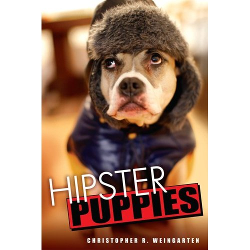 """hipsterpuppies :      **IT'S HERE!**    Today is the official release day of  Hipster Puppies , the book. The timeless meme has successfully turned itself into a novel for the ages, already the inaugural recipient of the Pulitzer Prize for Snarky Animal-Based Captions, Toilet-Tank Division. Be sure to order a copy for yourself and everyone you know… we're turning the New York Review Of Books into our own personal wee-wee pad!   Today, before you treat your bookshelf to some Jennifer Egan or Malcolm Gladwell or whatever, ask yourself, """"Does this book have pictures of dogs in sunglasses in it?"""" If not, the book probably sucks and is probably hard to read.   Here are some places to buy it immediately:  Amazon  •  Indiebound  •  Barnes & Noble  •  Books-A-Million  •  Borders    Also, it's probably in your local bookstore. If it's not, you should do the right thing and move immediately.   Seriously, though,  Hipster Puppies  is 85% new material, and I saved all the cutest dogs and all my best jokes for the occasion. You can even meet a few of our new puppy pals (and their owners) in  this week's  New York Post.      Please reblog and link the fuck out of this because my landlord is no  longer taking """"Oh, I have popular internet meme"""" in exchange for rent  money.   So yeah, if you treat yourself to one glossy picture book for adults in 2011… well, you're probably going to buy that stupid swearing-at-my-kids thing.   ~Christopher     Amazing."""