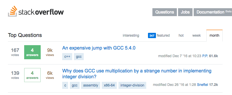 Stack Overflow home page