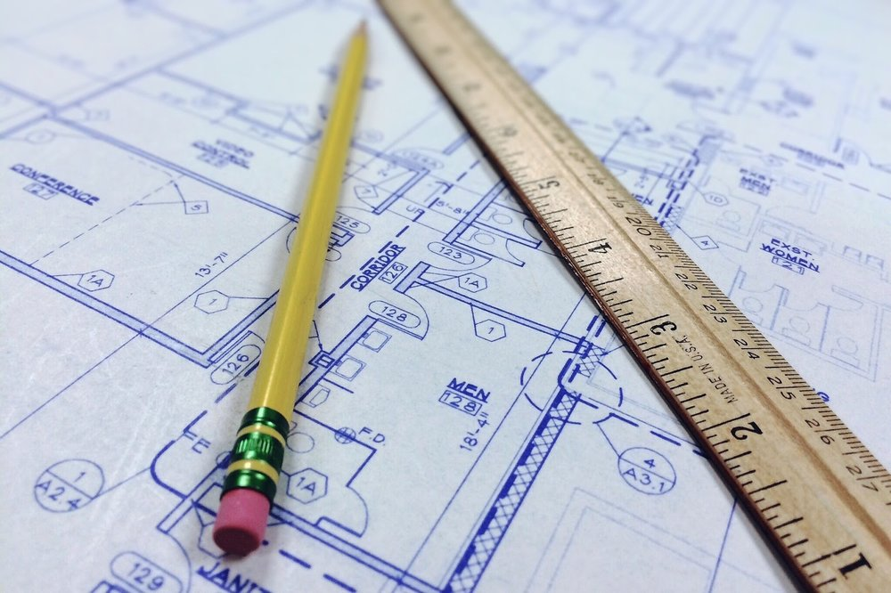 Source:https://pixabay.com/en/blueprint-ruler-architecture-964629/