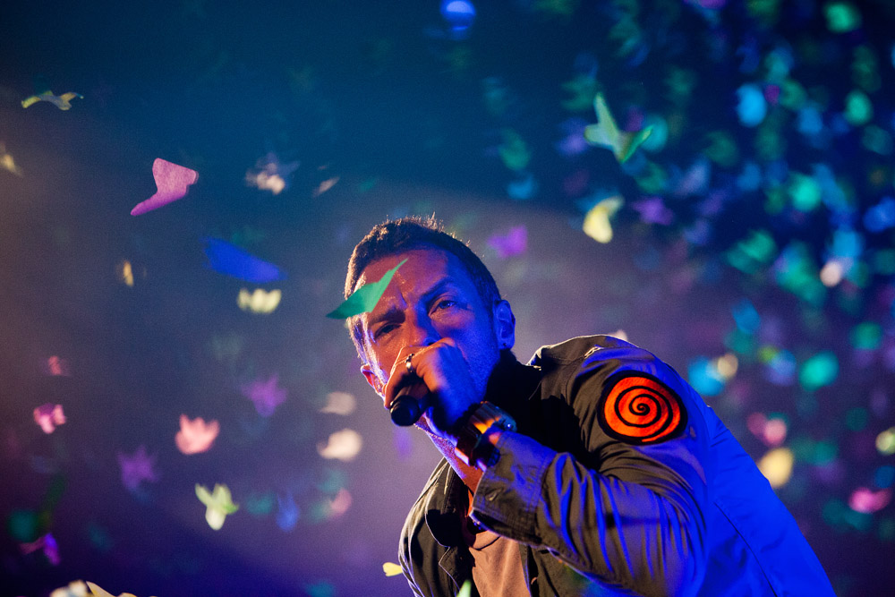 Chris Martin    Vocalista dos Coldplay    Festival Optimus Alive