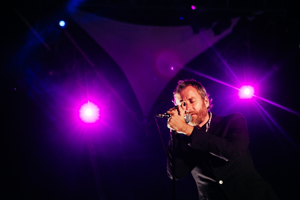 The National, Matt Berninger, 11º Festival do Sudoeste, 7 de agosto de 2011 © Miguel Manso