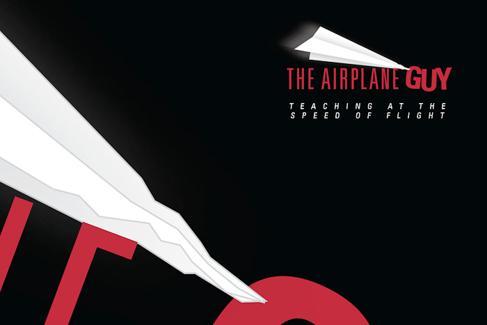 Identity Design and Logo: The Airplane Guy