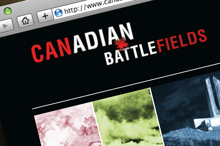 Identity Design and Logo: CanadianBattlefields.ca
