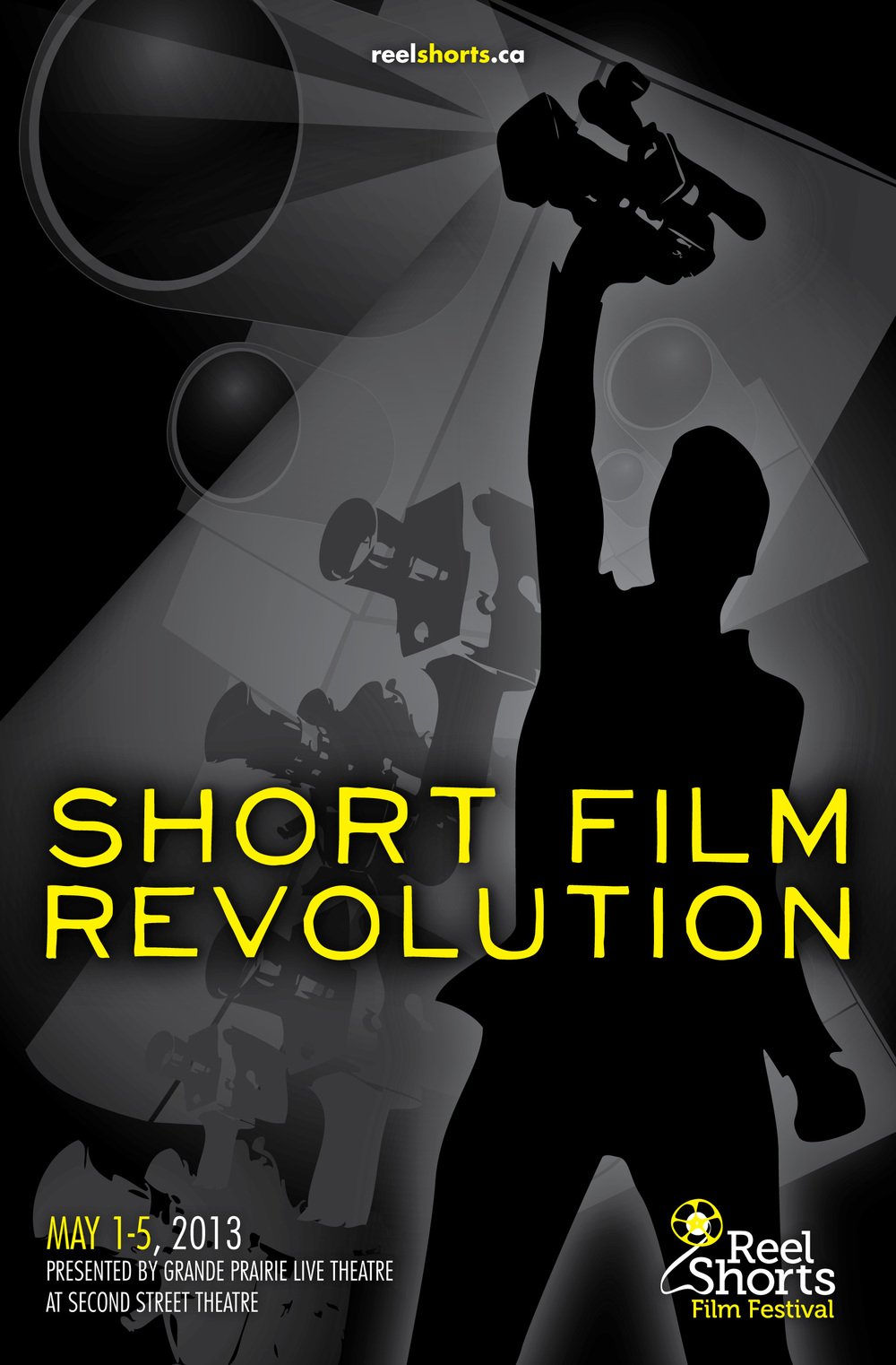 Poster Design: Reel Shorts Film Festival