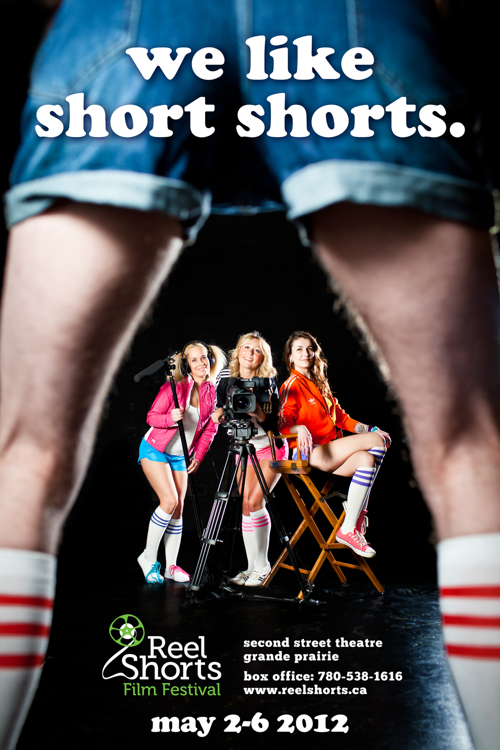 Poster Design and Photography: Reel Shorts Film Festival