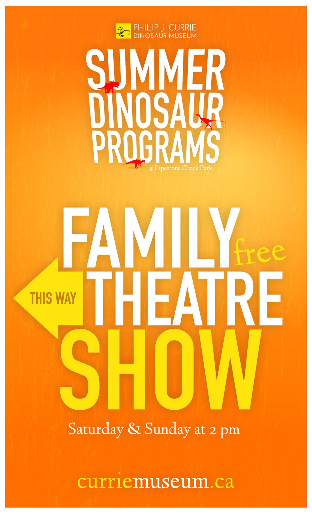 Poster Design: Currie Dinosaur Museum