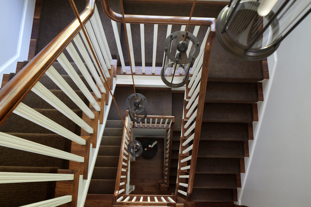 5 Indian Chase Drive - Main Stairwell - Aerial View.jpg