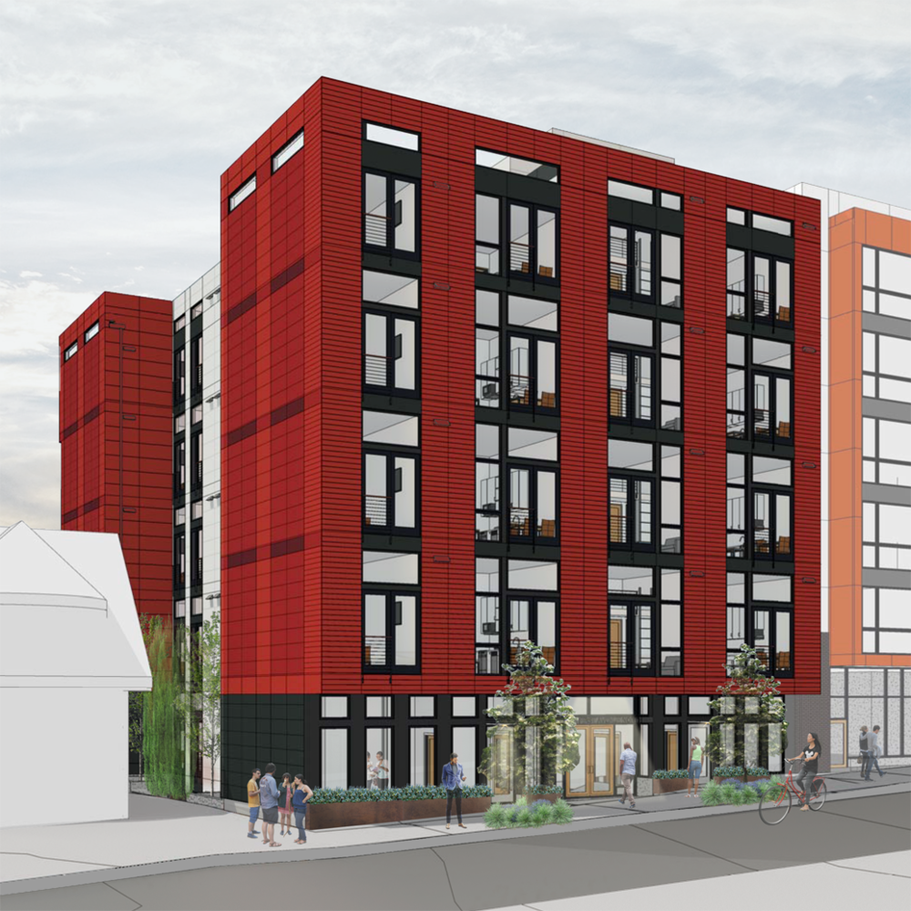 QUEEN ANNE MIXED USE   IN PROGRESS
