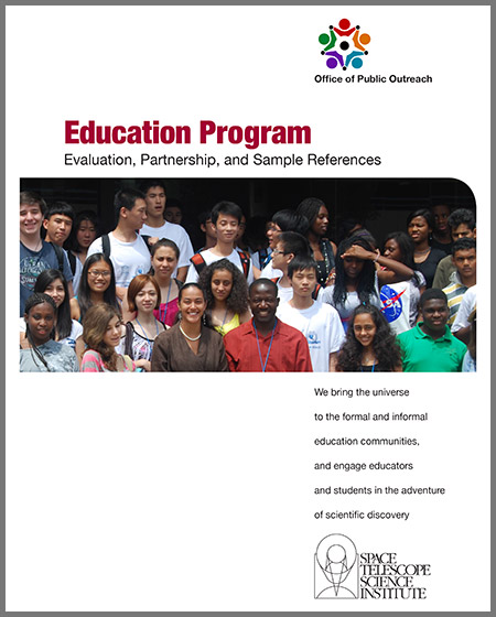 STScI Education Evaluation and Partnerships   Download PDF (5 MB)