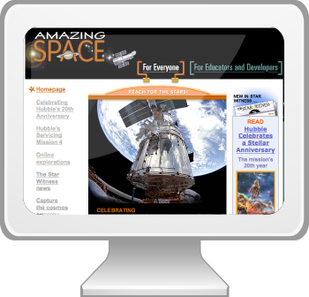 Visit the Amazing Space website.