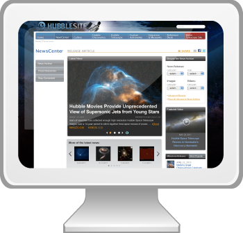 Visit HubbleSite's NewsCenter