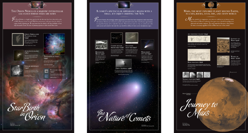 "Visit the ""Visions of the Universe"" webpage."