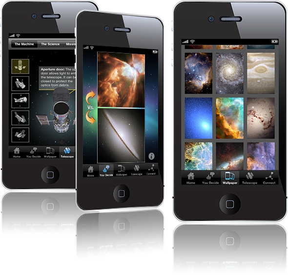 HubbleSite phone app available in iTunes