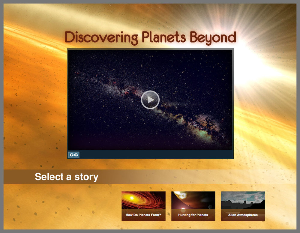 """Hubble Discoveries"" stories"
