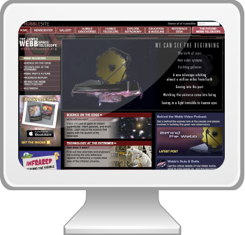 Visit the Webb Telescope website.