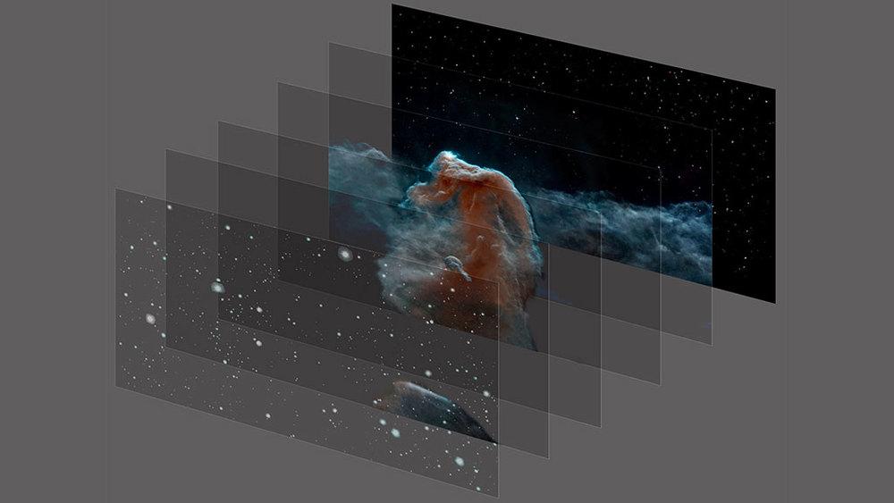 3D image layering