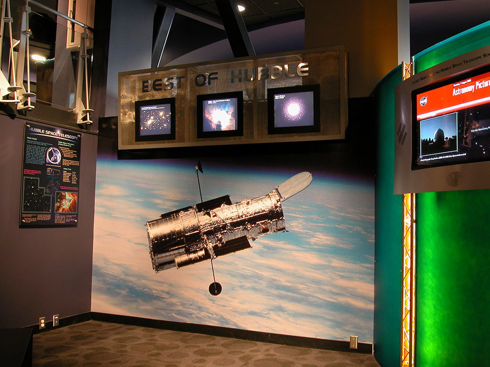ViewSpace installation at Clark Planetarium, Salt Lake City, Utah.