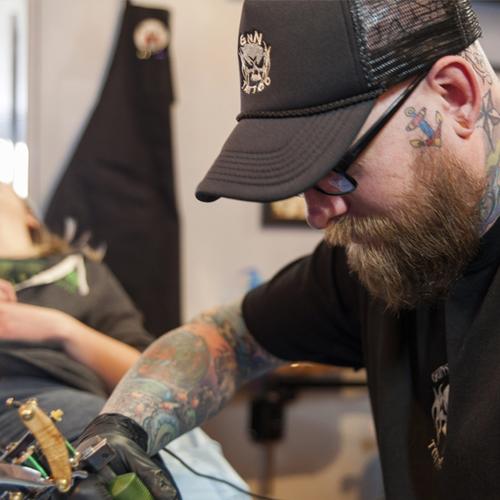 GNN Tattoo