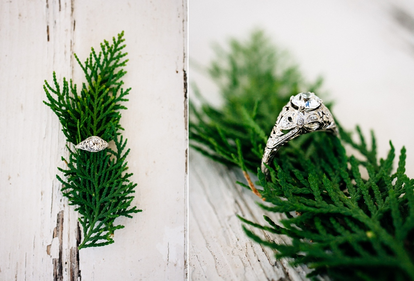 The beautiful ring at this Newell House Oregon Wedding by Catalina Jean Photography