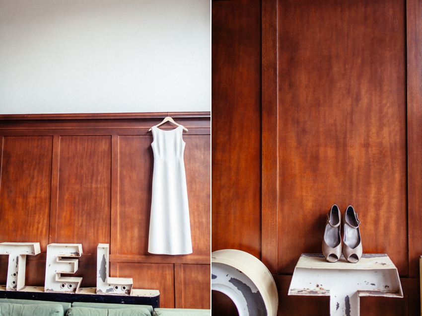 The bride's details at The Ace Hotel Portland by Catalina Jean Photography