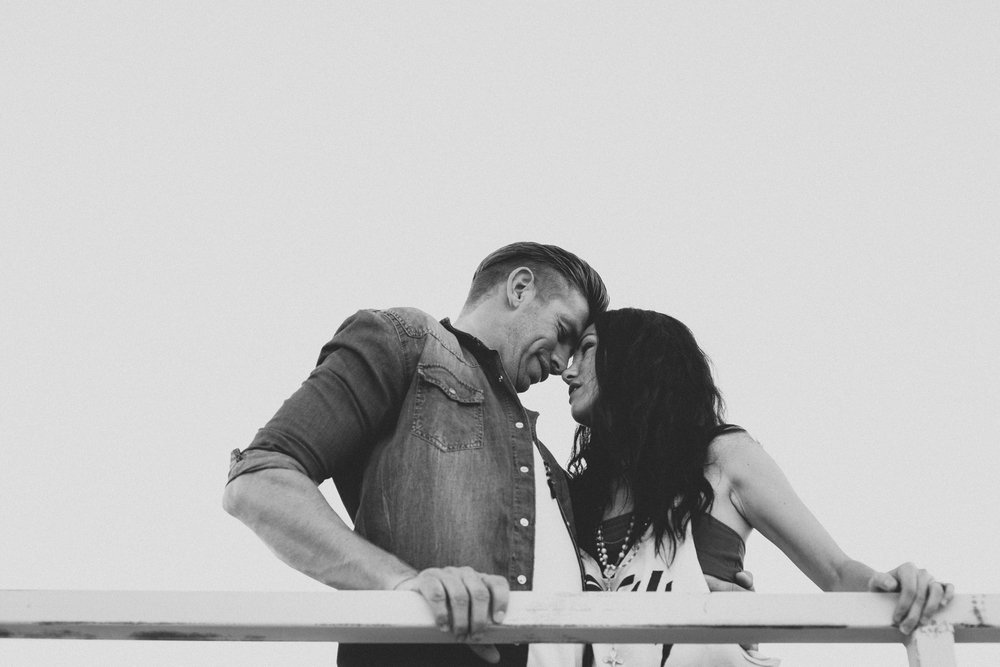 A romantic Palm Springs engagement session by Catalina Jean.