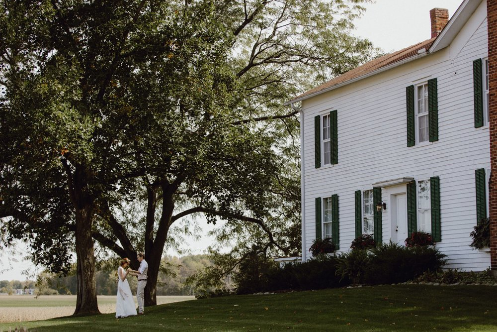 The Farmhouse Weddings venue
