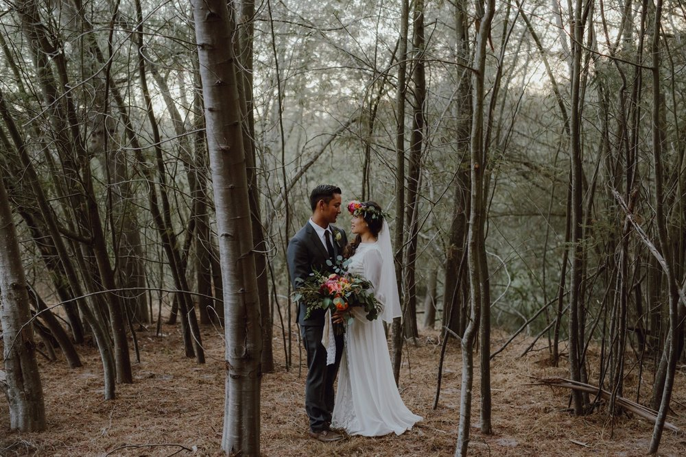 Wedding photo at Sand Rock Farm