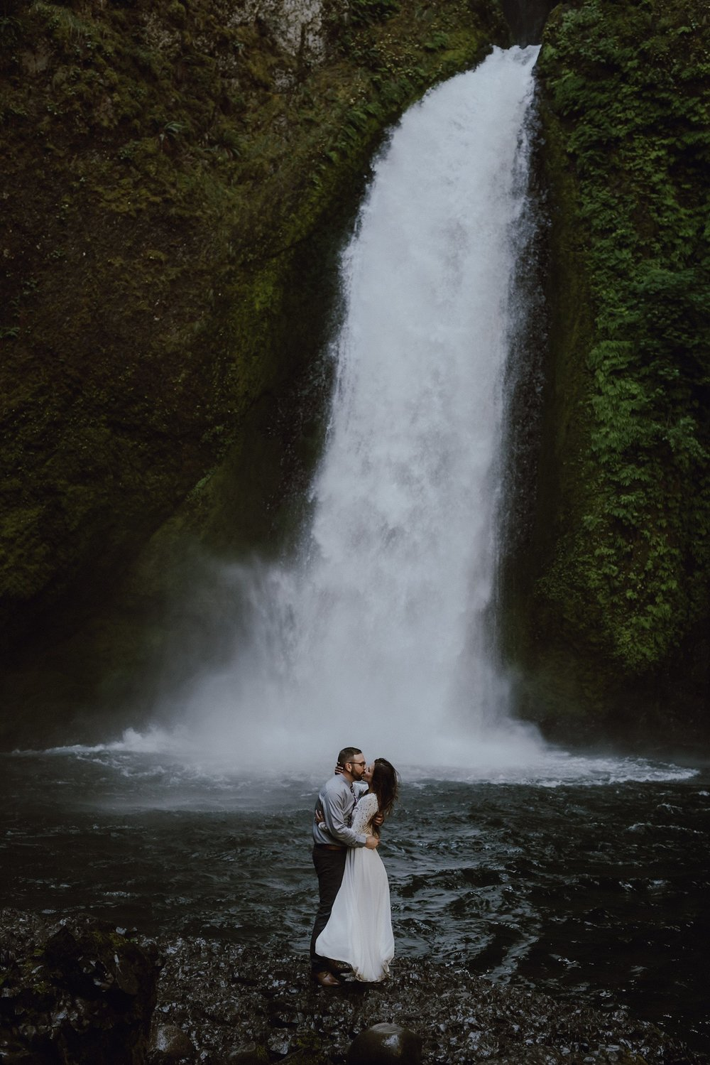 Emily & Steve // Wahclella Falls, OR
